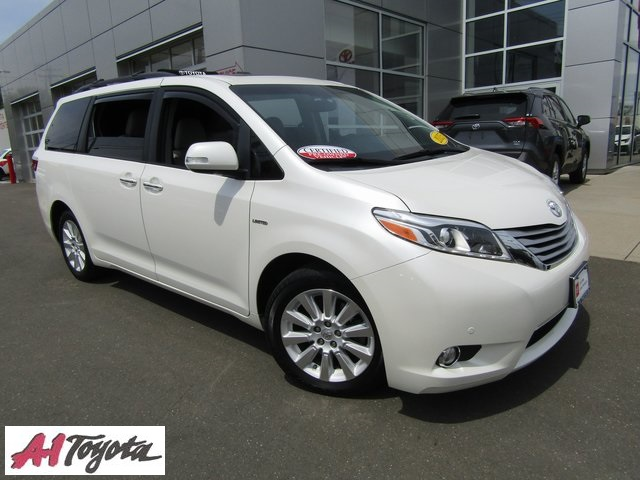 Certified Pre-Owned 2015 Toyota Sienna Limited Premium
