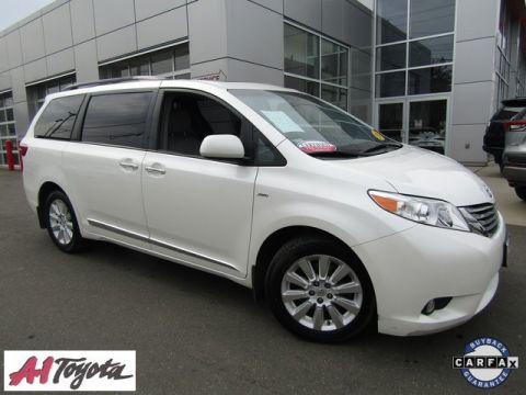 Certified Pre-Owned 2016 Toyota Sienna XLE Premium
